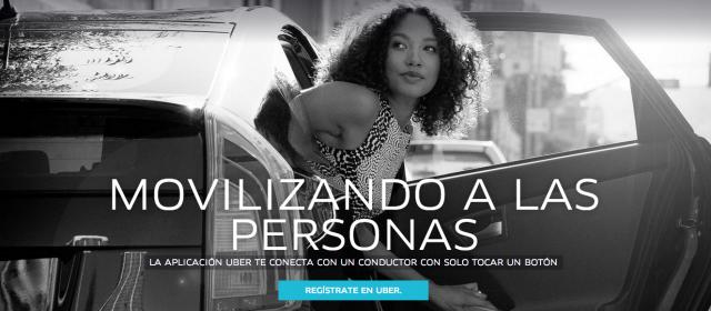El sector del taxi se ve amenazado por la aplicación URBER