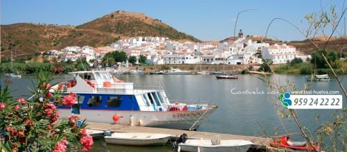 El Andévalo, comarca de Huelva. Conócela en taxi