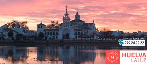 Ermita de EL Rocío, Almonte Huelva. Taxi-Huelva