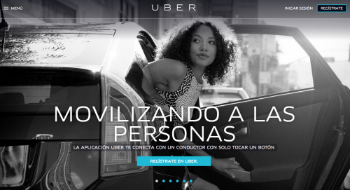 Urber, aplicación que amenaza al sector del taxi